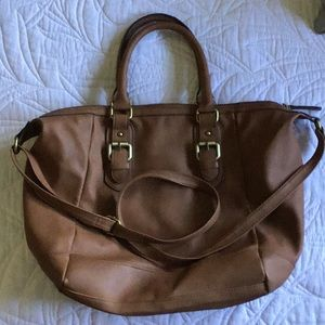 Merona purse with handles and shoulder strap